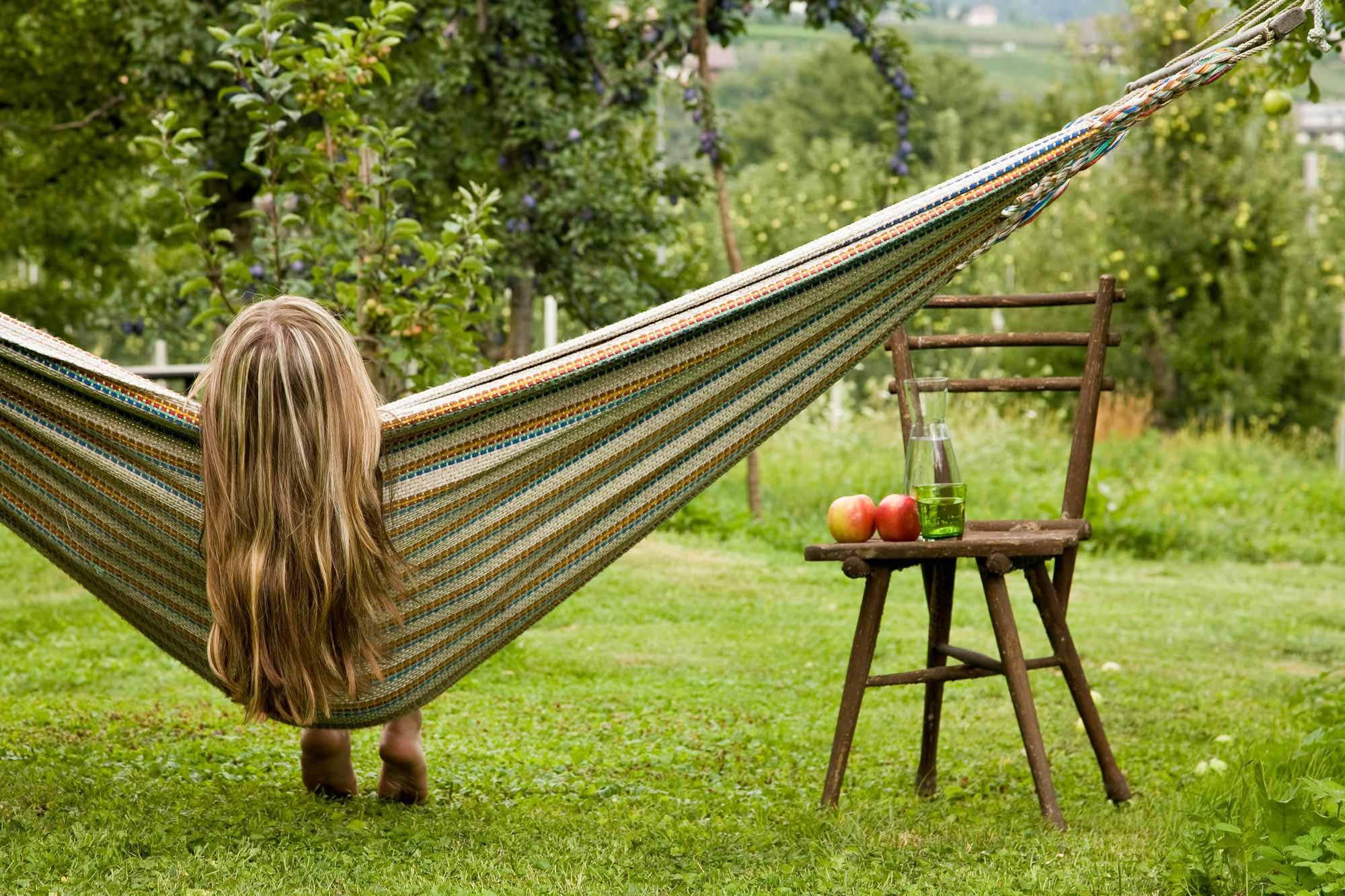 Maratscher Hotel über Meran Gemutliche Hangematte Fur Den Garten Zum Entspannen